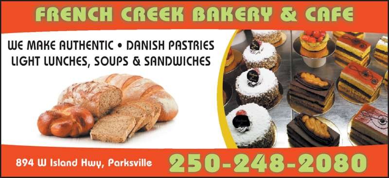 French Creek Bakery Cafe Parksville Bc