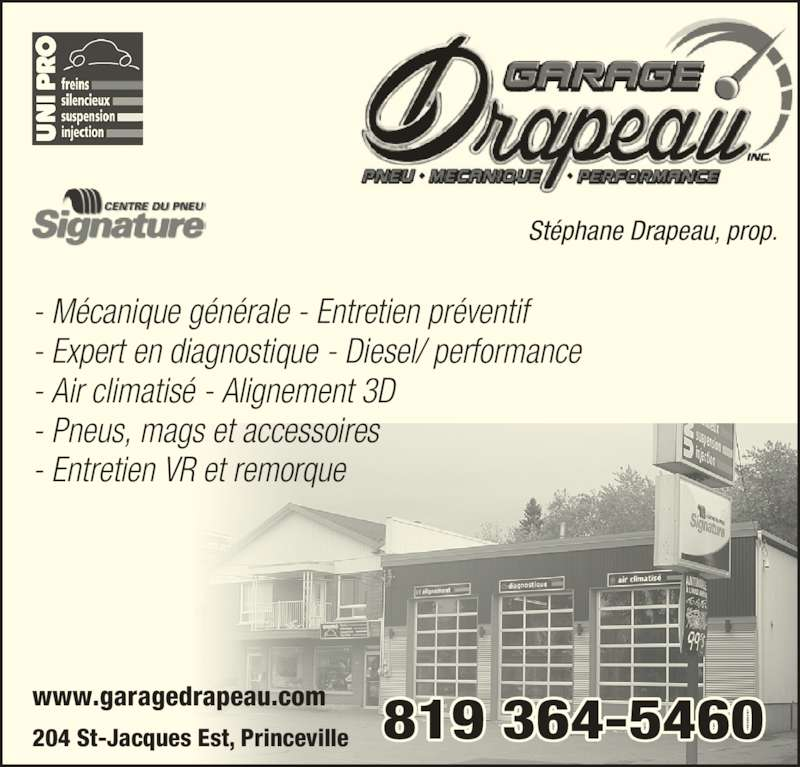 Garage chagnon princeville qc 204 rue saint jacques e for Garage ad st coulomb