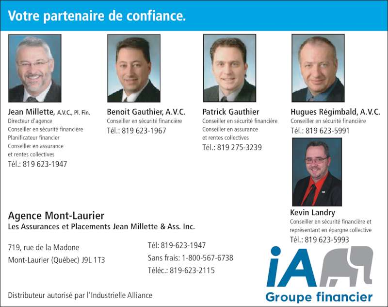 Assurance industrielle alliance mont laurier qc 719 for Assurance maison industrielle alliance