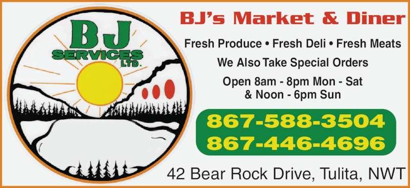 BJ Services Ltd (867-588-3504) - Annonce illustrée======= -