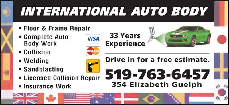ad International Auto Body Floor & Frame Repair