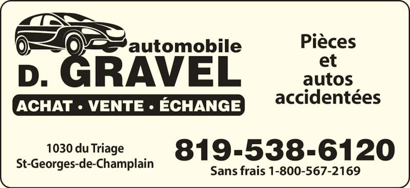 Garage gravel d automobile inc saint georges de for Garage ad saint georges de reneins