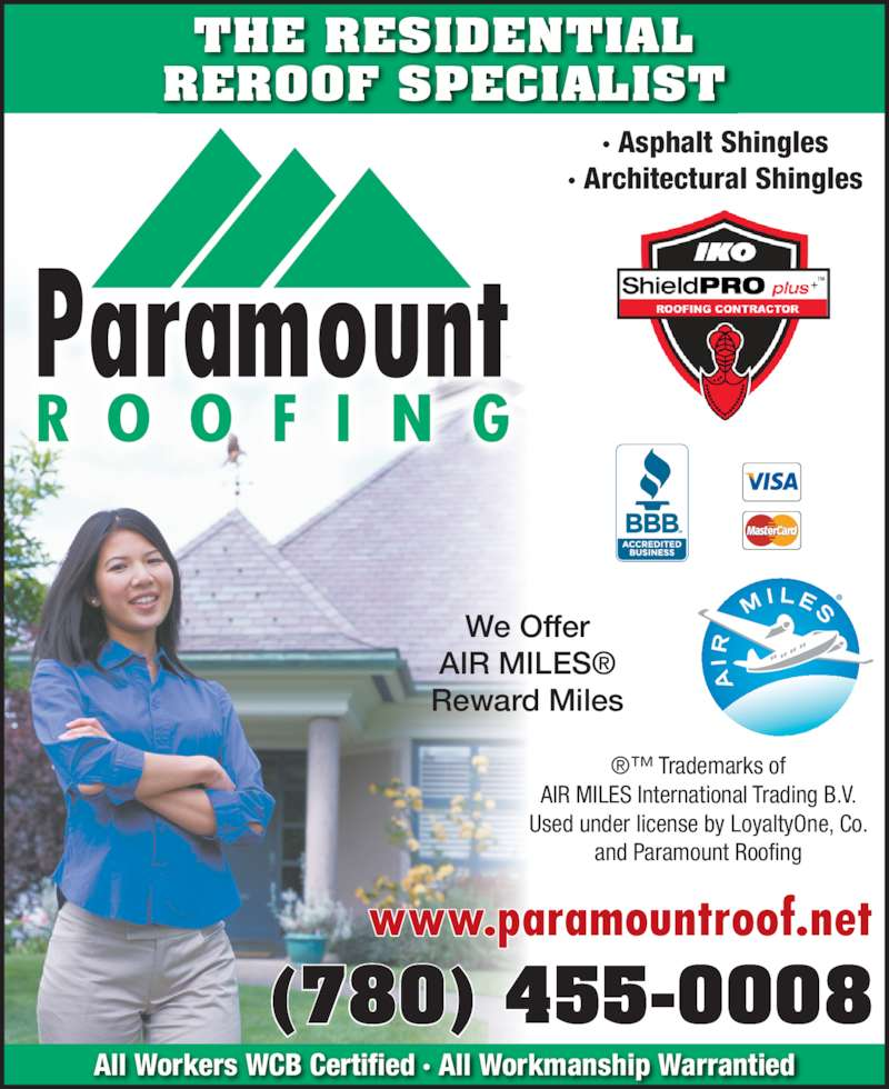 ad Paramount Roofing