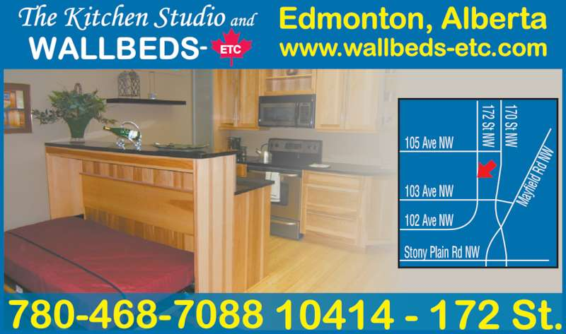 The Kitchen Studio Wallbeds Etc Edmonton Ab 10414 172nd Street Nw Canpages Fr