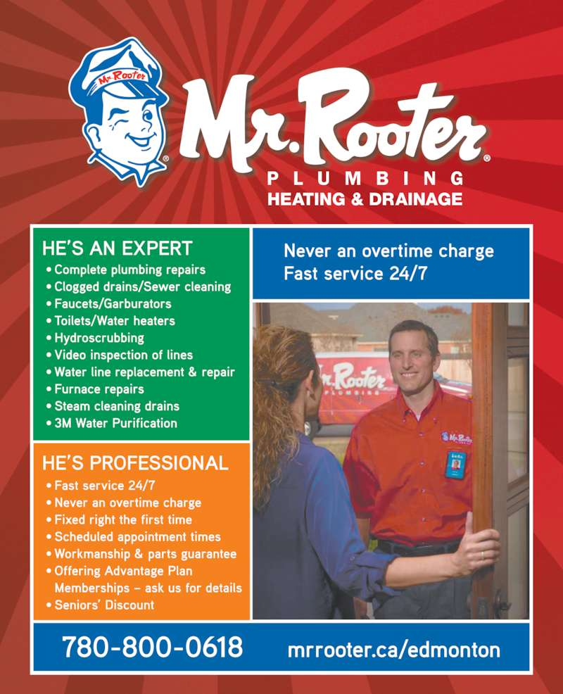 ad Mr Rooter Plumbing
