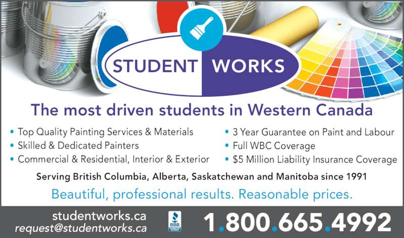 Student Painting Jobs Vancouver
