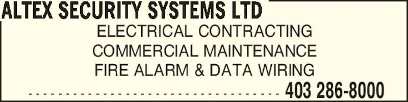 ad Altex Security Systems Ltd