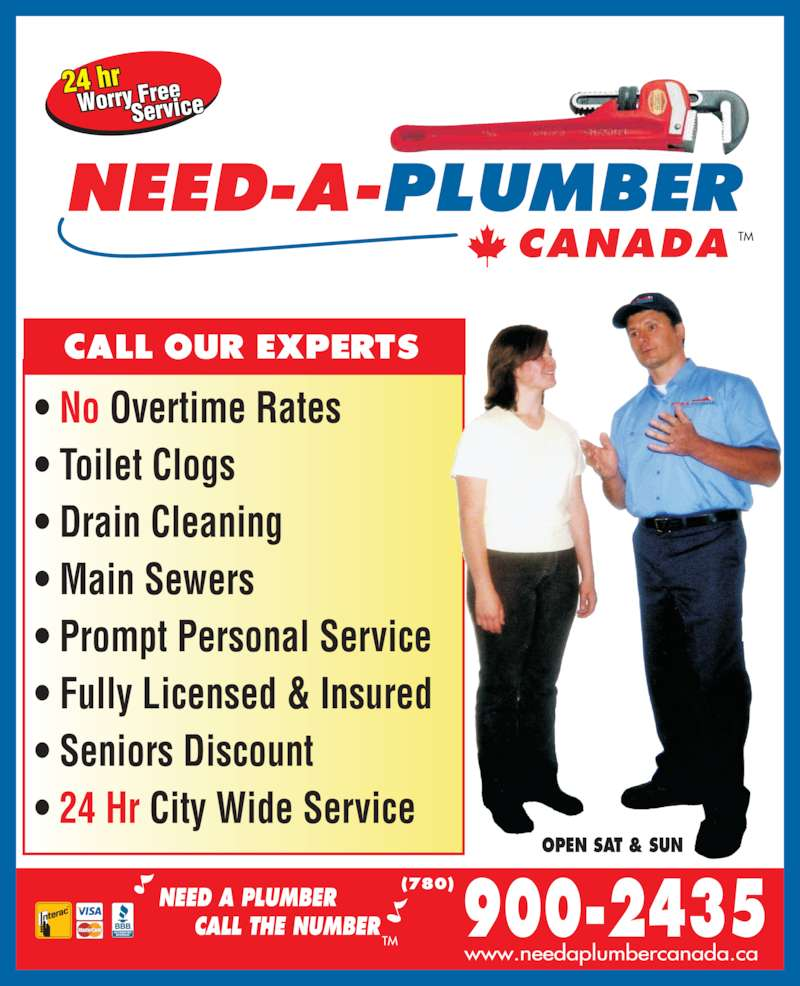 need a plumber edmonton ab a st nw canpages ads need a plumber