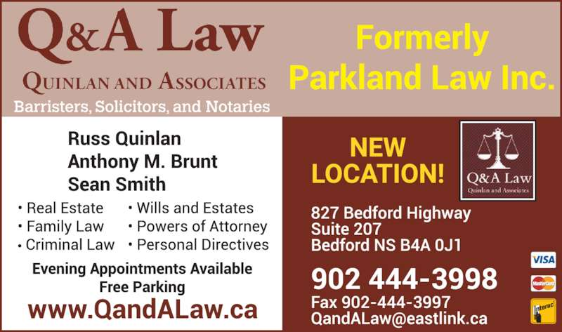 Q&A Law - Quinlan and Associates (9024443998) - Display Ad -
