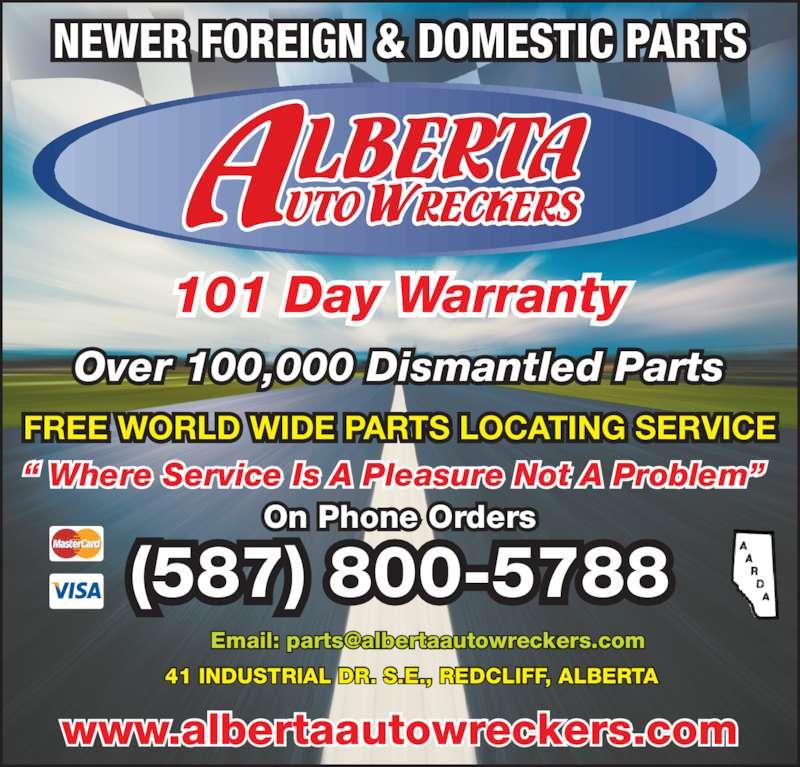 ad Alberta Auto Wreckers