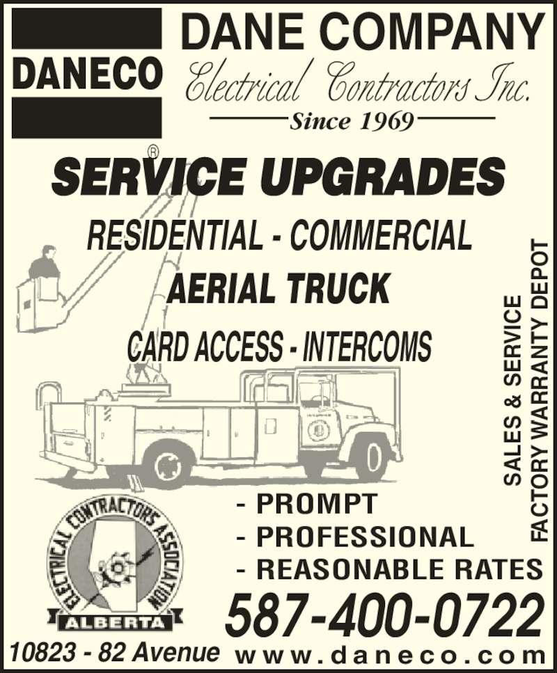 Ads Dane Company Electrical Contractors Inc