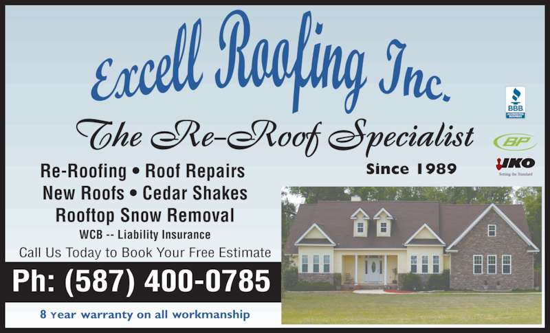 ad Excell Roofing Inc