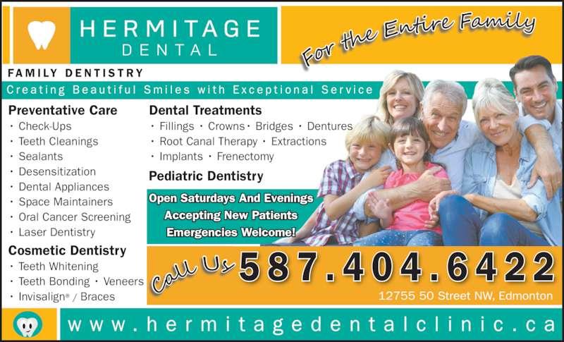 ad Hermitage Dental Clinic
