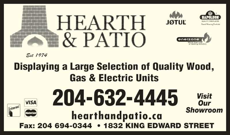 Hearth Amp Patio Winnipeg Mb 4 1832 King Edward St