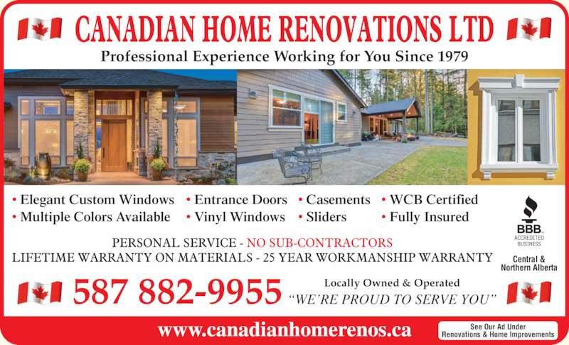 Canadian Home Renovations Ltd Canpages