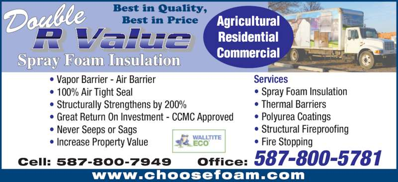 Double R Value Insulation Opening Hours 1516 5 Ave N