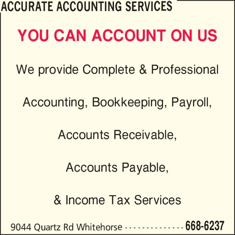 how to write an ad for bookkeeping services