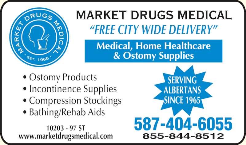 Market Drugs Medical Edmonton Ab 10203 97 St Nw