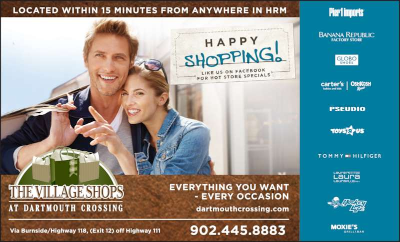 Dartmouth Crossing (902-445-8883) - Display Ad - FACTORY STORE