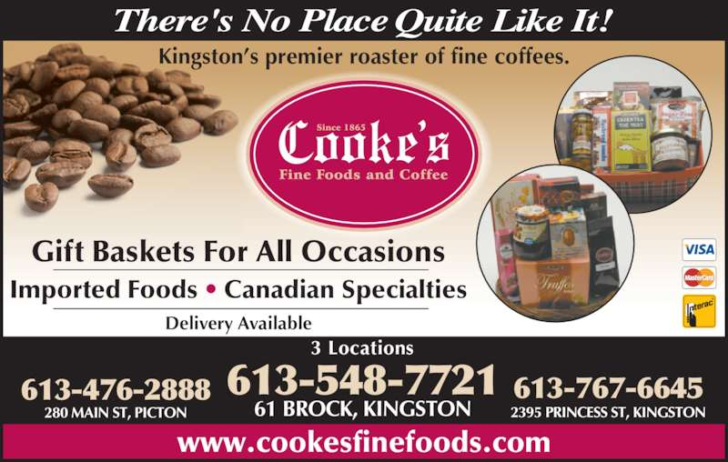 Cooke S Fine Foods And Coffee Kingston On