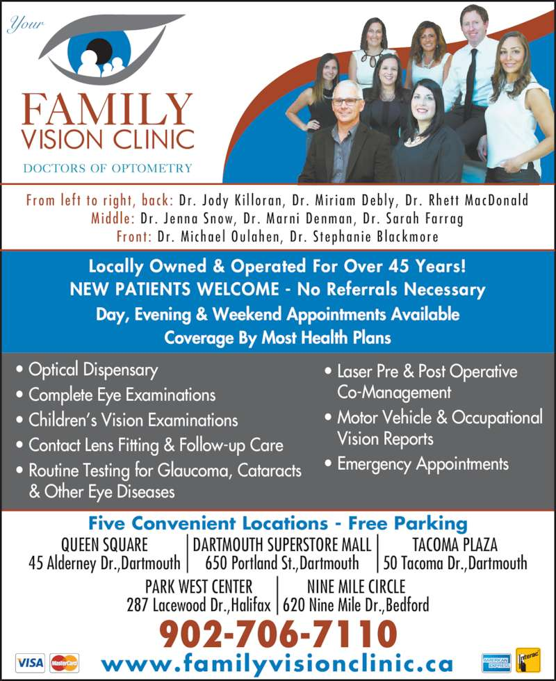 Us Eyeglass Repair Tacoma Wa : Family Vision Clinic - Tacoma Plaza Canpages