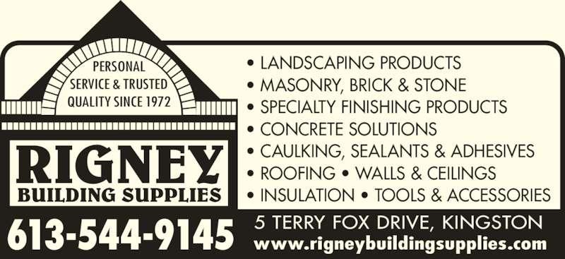 Rigney Building Supplies Kingston On