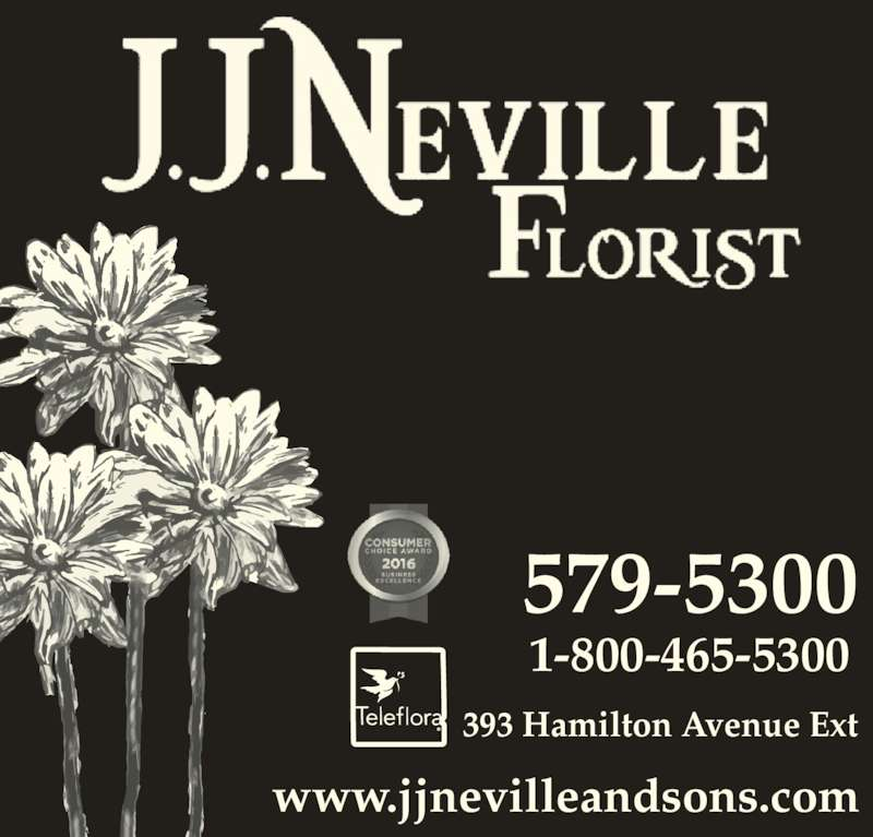 Neville J J & Sons Ltd (709-579-5300) - Display Ad - www.jjnevilleandsons.com 579-5300 1-800-465-5300 393 Hamilton Avenue Ext