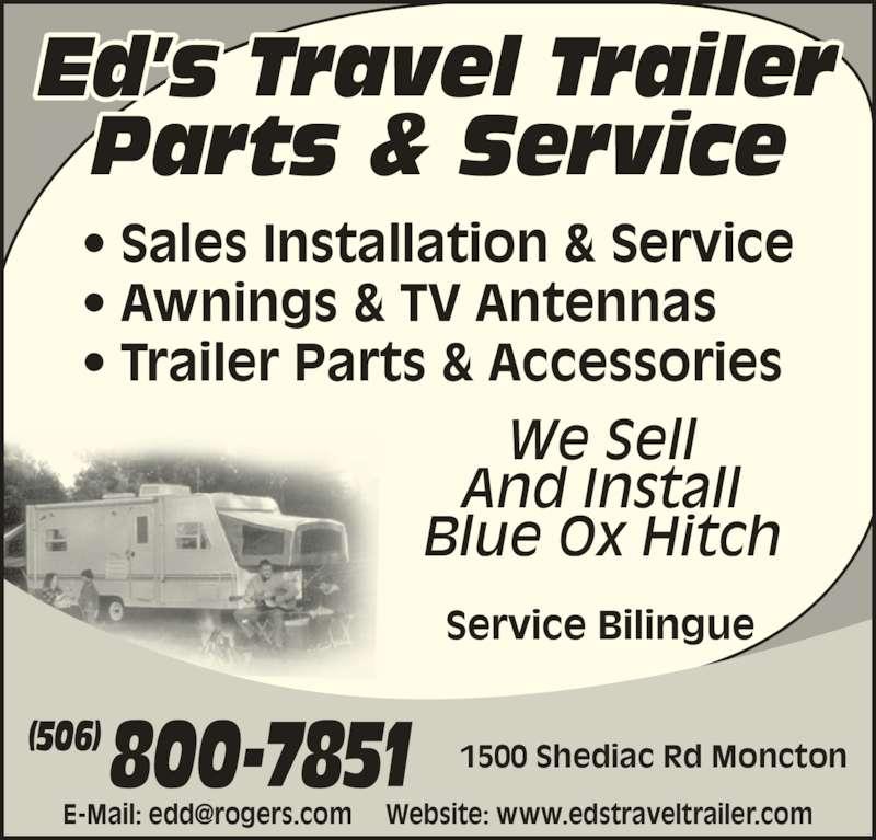 Ed S Travel Trailer Parts Amp Service Moncton Nb 1500