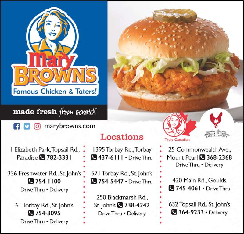 Fast Food Restaurants In Quebec City Menu
