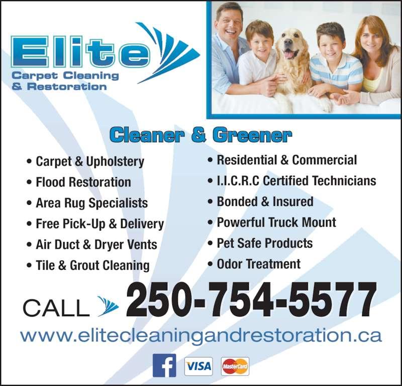 Elite Cleaning Amp Restoration Opening Hours 411 Mckay