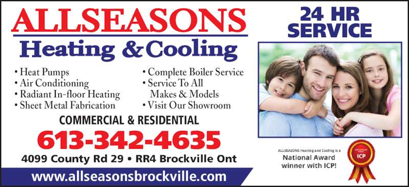 ad All Seasons Heating & Cooling