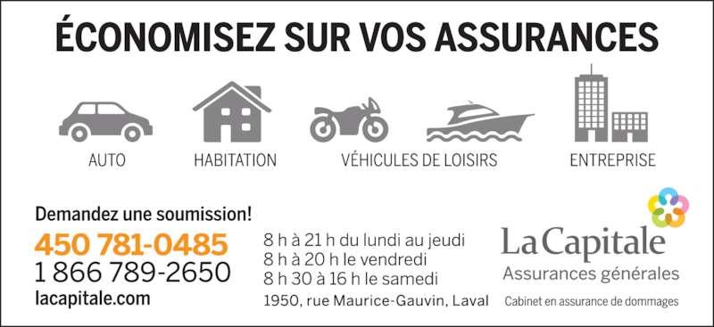 La Capitale assurances générales (4507810485) - Annonce illustrée======= -