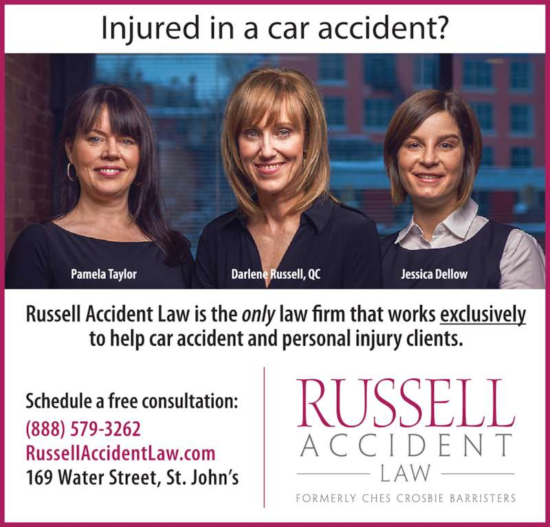 Russell Accident Law (7095794000) - Display Ad -