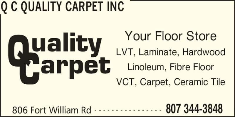 Ads Q C Quality Carpet Inc