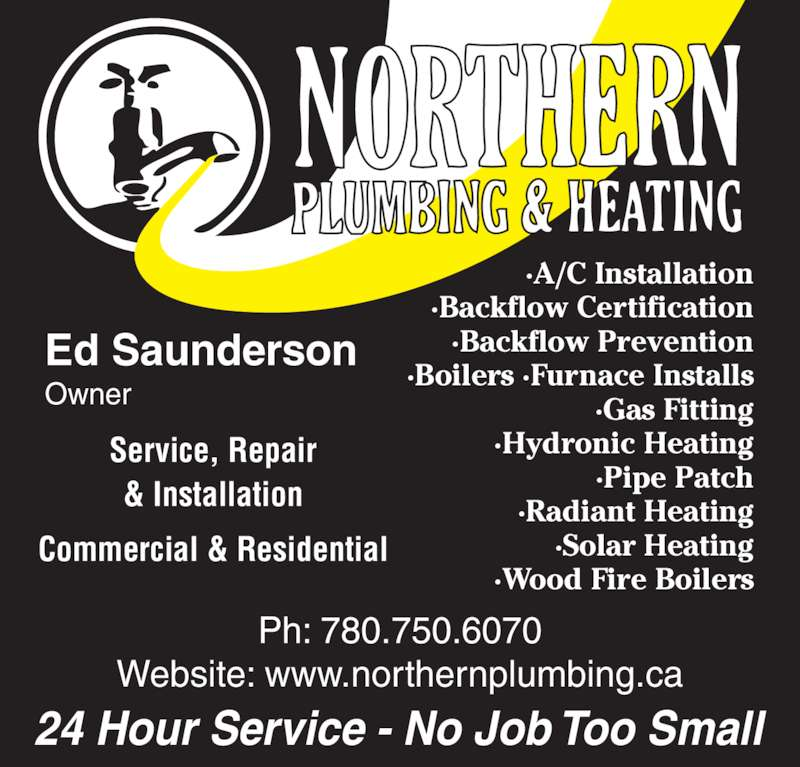 Northern Plumbing Amp Heating Opening Hours 8212 Fraser