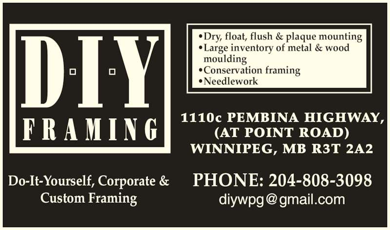 do it yourself framing 2044750011 display ad dry