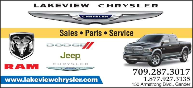 Lakeview Chrysler Ltd Gander Nl 150 Armstrong Blvd