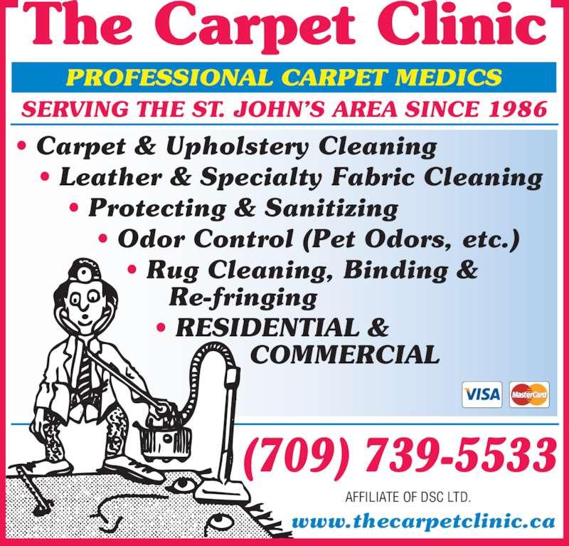 The Carpet Clinic St Johns NL 323 Hamilton Ave