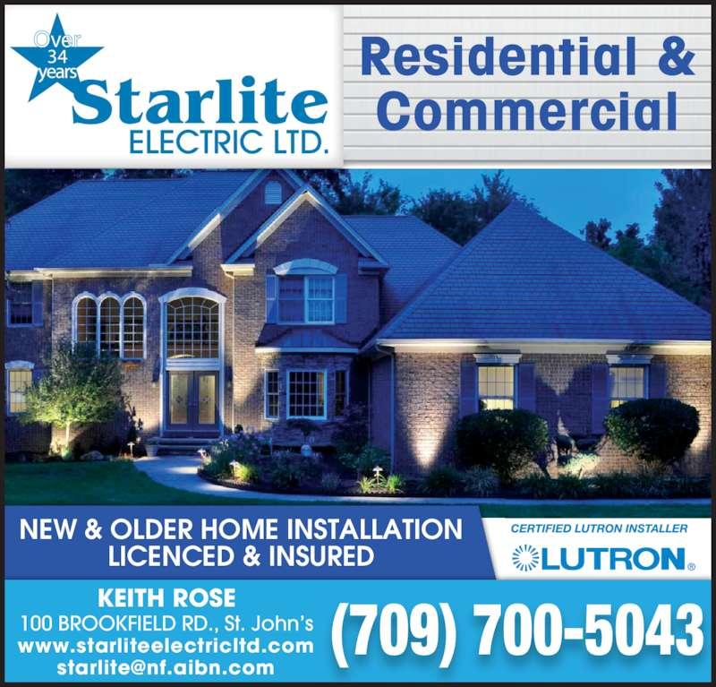 Landscape Lighting Mississauga: Starlite Electric Ltd