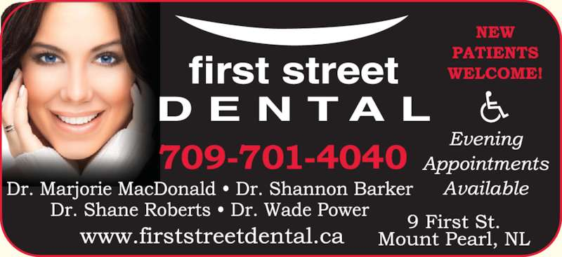 First Street Dental (7093646185) - Display Ad -