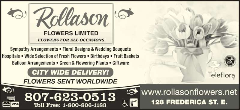 Baby Gift Baskets Thunder Bay : Rollason flowers limited thunder bay on frederica