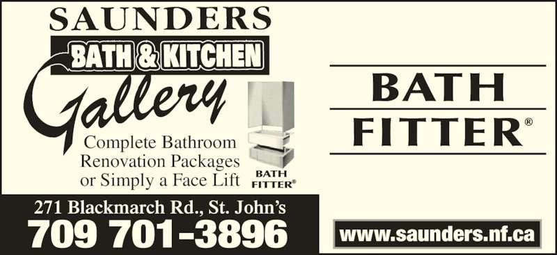 Saunders Bath Kitchen Gallery Plumbing St John S Nl