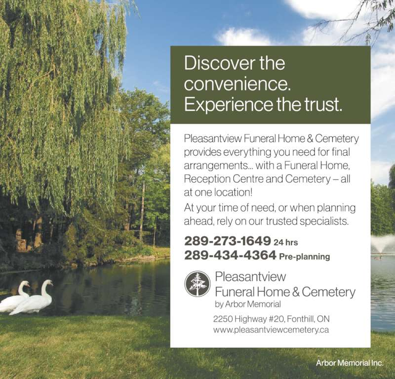 Pleasantview Funeral Home And Cemetery Website
