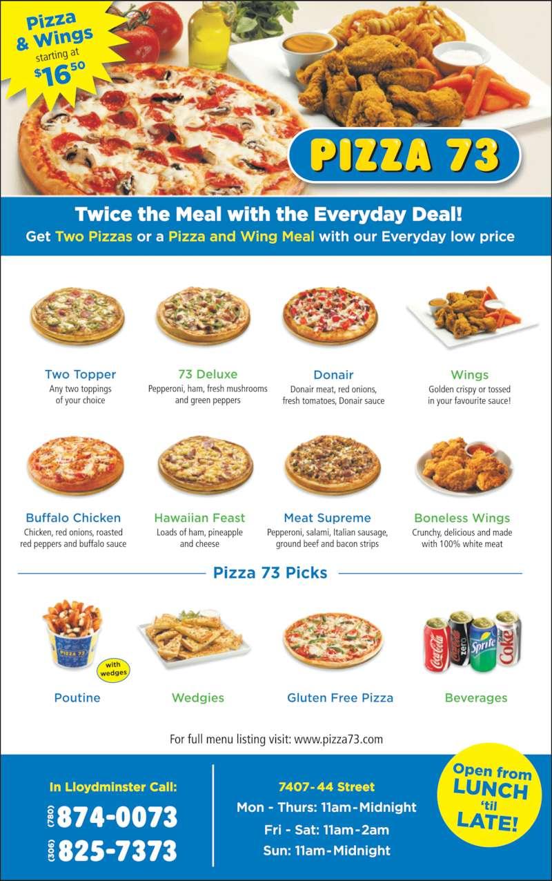 Pizza 73 (3068257373) - Display Ad -