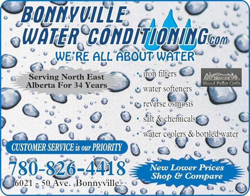 ad Bonnyville Water Conditioning Ltd