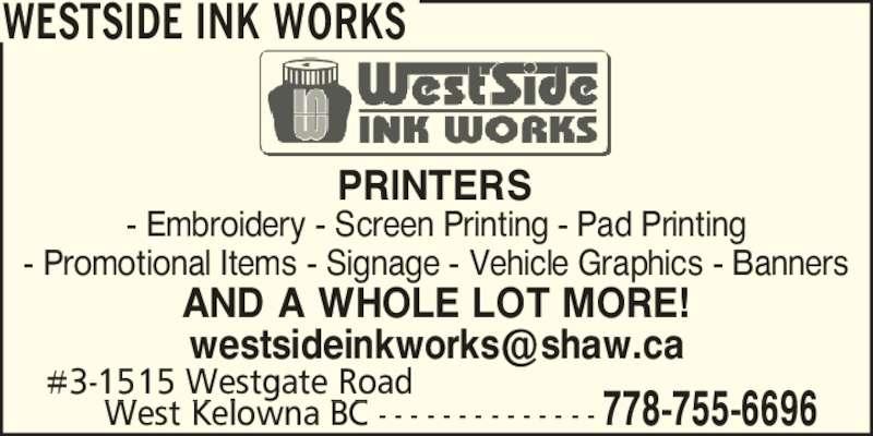ad Westside Ink Works