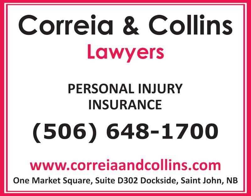 Correia & Collins - Saint John, NB - D302-1 Market Sq ...