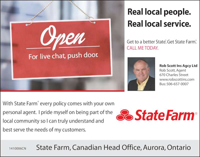 State Farm Insurance - Opening Hours - 670 Charles St W ...