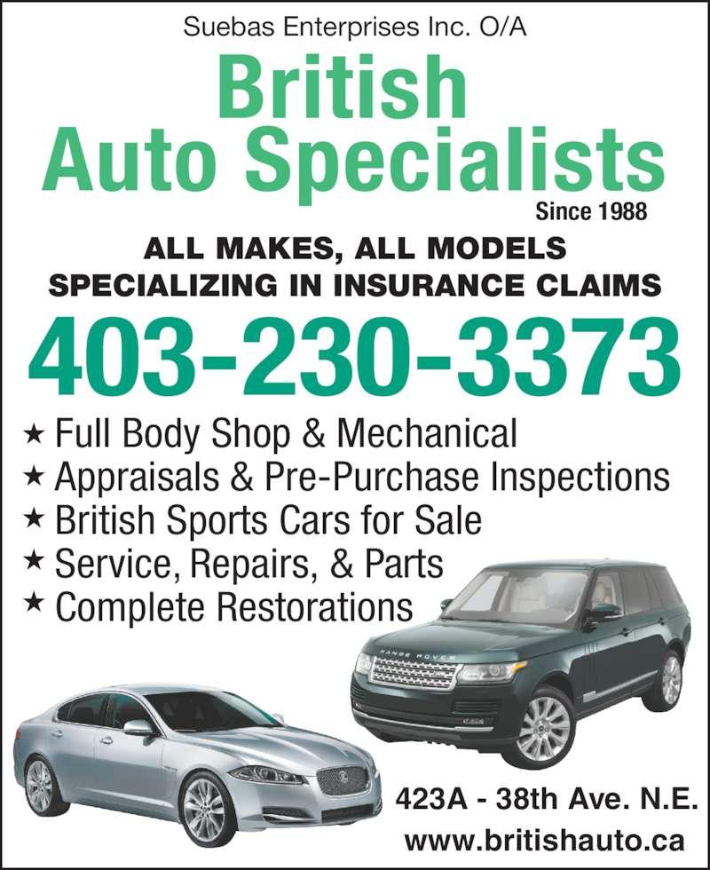 ad British Auto Specialists