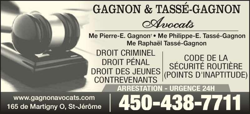gagnon pierre e avocat saint j r me qc 165 rue de martigny o canpages fr. Black Bedroom Furniture Sets. Home Design Ideas
